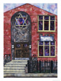 Synagogue Giclee Print by Erik Slutsky
