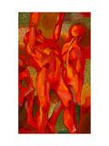 Kandinsky's Dancers II Giclee Print by John Newcomb