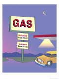 Arm and Leg Gas Prices, no.2 Giclee Print by Linda Braucht