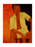 Self Portrait at 53 Giclee Print by John Newcomb