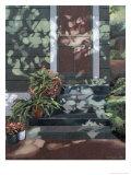 Backsteps Revisited, c.1993 Premium Giclee Print by Helen J. Vaughn