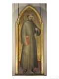 Saint Francis of Assisi, c.1360 Giclee Print by Giovanni Da Milano