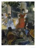 Le Cafe Concert Des Ambassadeurs, c.1876-77 Giclee Print by Edgar Degas