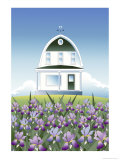 Iris Home, no.1 Giclee Print by Linda Braucht