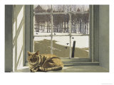 Winter Solace Premium Giclee Print by Ben Watson