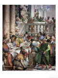 The Marriage at Cana Giclée-tryk af Paolo Veronese