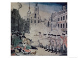 Boston Massacre, March 5,1770 Giclee Print by Paul Revere