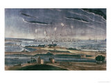 Bombardment of Fort Mchenry, c.1814 Giclee Print by John Bower