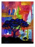 Africa Premium Giclee Print by Helen Lurye