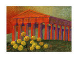 Greek Temple, Segesta Giclee Print by John Newcomb