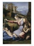 Virgin with c. Veil, c.1515 Reproduction procédé giclée par  Raphael