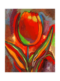 Kandinsky's Prize Tulip Premium Giclee Print by John Newcomb