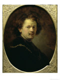 Self Portrait Bareheaded, c.1633 Giclee Print by  Rembrandt van Rijn