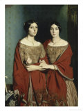Les Deux Soeurs Giclee Print by Théodore Chasseriau