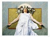Ash Wednesday Giclée-Druck von Helen J. Vaughn