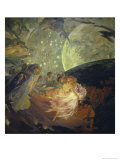 Le Verite Entrainant Les Sciences Giclee Print by Albert Besnard