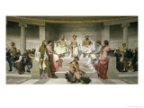 Hemicycle de L'Ecole Des Beaux Arts, c.1841 Giclee Print by Paul Delaroche