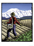Springtime Sower Giclee Print by Linda Braucht