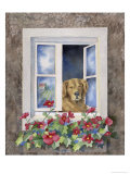 Hannah at the Window, no.2 Giclee Print by Linda Braucht