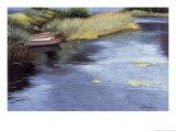 Rowboats in Scotland Giclée-Druck von Helen J. Vaughn