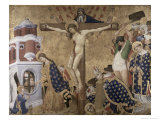 St. Denis Altarpiece Giclee Print by Henri Bellechose
