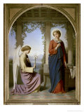 The Annunciation Giclee Print by Eugene Emmanuel Amaury-Duval