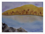 Hill and Lake in Autumn, c.2006 Giclee Print by Erik Slutsky