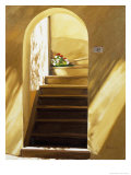 Arched Doorway Giclee Print by Helen J. Vaughn