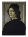 Portrait of a Manlate, 15th century Giclee Print by Sandro Botticelli