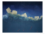 Mood Landscape 9, c.1981 Giclee Print by Erik Slutsky