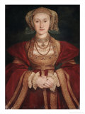 Anne of Cleves Reproduction procédé giclée par Hans Holbein the Younger