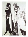 Salomé Reproduction procédé giclée par Aubrey Beardsley