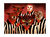 The Officials Giclee Print by John Newcomb