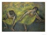 Deux Danseuses En Repos Giclée-tryk af Edgar Degas