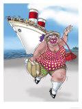 Cruise Baby Giclee Print by Linda Braucht