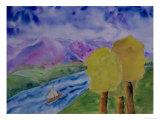 Imaginary Landscape, c.2005 Giclee Print by Erik Slutsky
