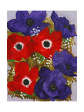 Anemones Giclee Print by John Newcomb