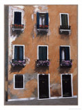 Doors and Windows in Venice Giclee Print by Helen J. Vaughn