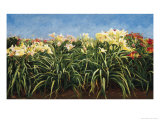Day Lillies, c.1992 Giclee Print by Helen J. Vaughn