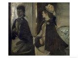 Portrait de Madame Jeantaud Au Miroir Giclee Print by Edgar Degas