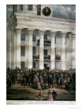The Inauguration of Jefferson Davis, c.1861 Giclee Print by James Massalon