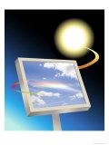 Solar Prism Giclee Print by Linda Braucht