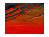 Sky Portrait of a Sunset Giclee Print by John Newcomb