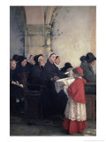 The Blessed Bread Giclee Print by Pascal Adolphe Jean Dagnan-Bouveret