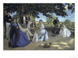 Family Reunion, c.1867 Giclee Print by Frederic Bazille