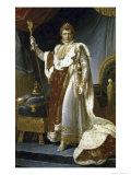 Napoleon En Costume de Sacre Giclee Print by Francois Gerard