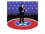 The Politician Giclee Print by Linda Braucht