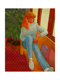 Teenager Giclee Print by John Newcomb