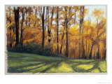 Early Fall Trees Giclee Print by Helen J. Vaughn