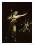 Lady Macbeth Sleepwalking, c.1783 Giclee Print by Henry Fuseli